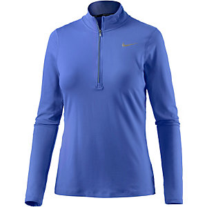 Nike Element Laufshirt Damen blau