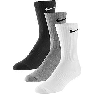 Nike Cushion Crew Socken Pack schwarz/weiss/grau