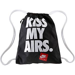 Nike Airs Heritage Turnbeutel Herren schwarz