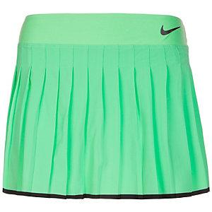 Nike Victory Tennisrock Damen grün / schwarz