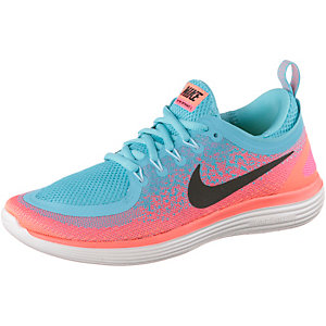 Nike Free RN Distance 2 Laufschuhe Damen blau