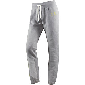 Under Armour Favorite Fleece Sweathose Damen hellgrau/melange