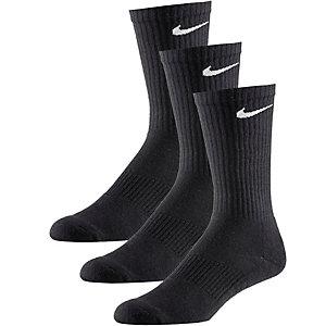 Nike Cushion Crew Socken Pack schwarz