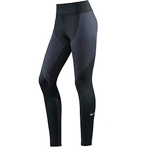Nike Zonal Strength Lauftights Damen schwarz/blau