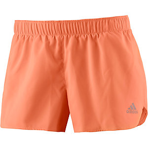 adidas Response Laufshorts Damen orange