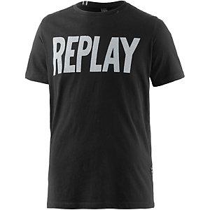 REPLAY T-Shirt Herren schwarz
