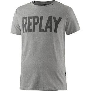 REPLAY T-Shirt Herren grau
