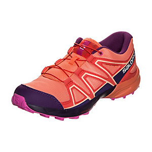 Salomon Speedcross Laufschuhe Kinder korall / violett