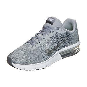 Nike Air Max Sequent 2 Laufschuhe Kinder grau / silber