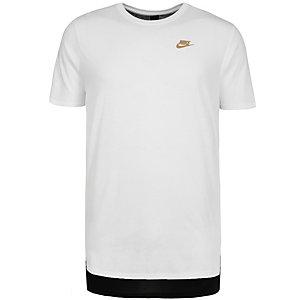 Nike Triblend Droptail T-Shirt Herren weiß / schwarz