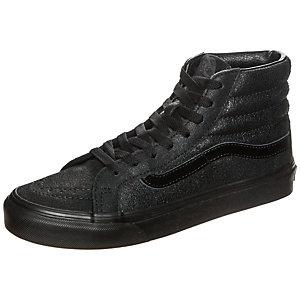 Vans Sk8-Hi Slim Patent Crackle Sneaker Damen schwarz