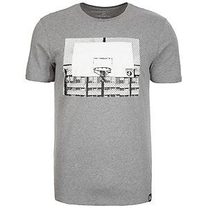Nike Basketball Hoop T-Shirt Herren anthrazit / weiß