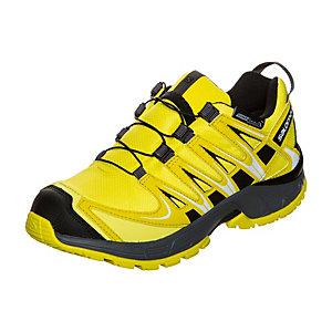 Salomon XA PRO 3D CSWP Laufschuhe Kinder gelb / schwarz