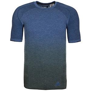 adidas Primeknit Wool Dip Dye Laufshirt Herren blau / grau