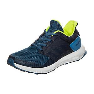 adidas RapidaRun Laufschuhe Kinder blau / neongelb