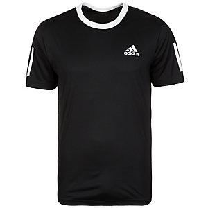 adidas Club Tennisshirt Herren schwarz / weiß