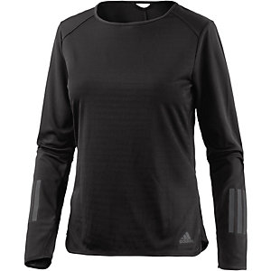 adidas Response Laufshirt Damen schwarz