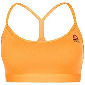 Reebok CrossFit Front Rack Sport-BH Damen orange
