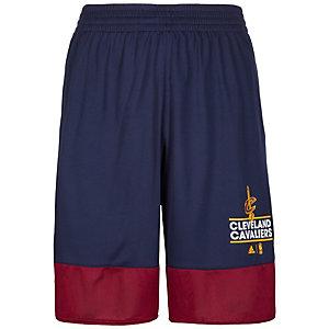 adidas Cleveland Cavaliers Basics Basketball-Shorts Herren dunkelblau / weinrot