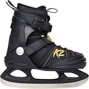 K2 JOKER ICE Schlittschuhe Jungen schwarz/gelb