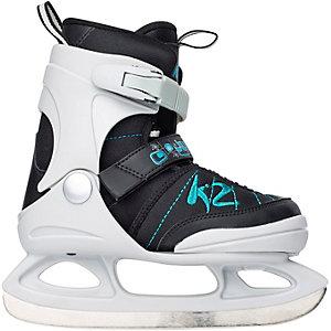 K2 JUNO ICE Schlittschuhe Mädchen schwarz/blau