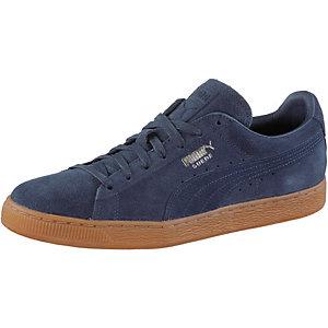 PUMA Suede Classic CITI Sneaker Herren blau
