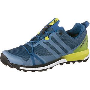 adidas Terrex Agravic GTX Laufschuhe Herren blau/gelb