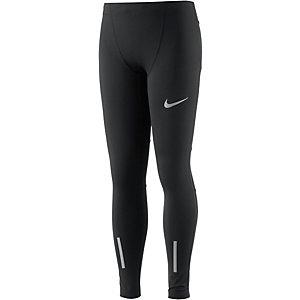 Nike Lauftights Jungen schwarz