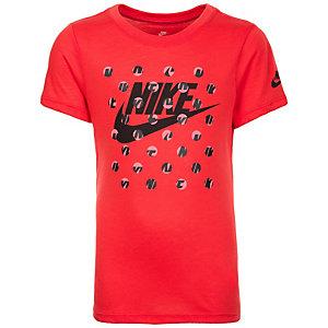 Nike Court Art Printshirt Mädchen neonrot