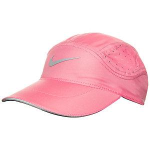 Nike AeroBill Elite Laufmütze Damen rosa / schwarz