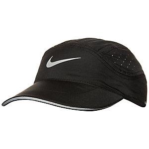 Nike AeroBill Elite Laufmütze Damen schwarz / silber