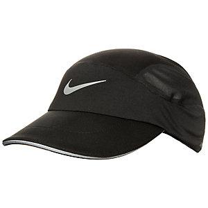 Nike AeroBill Laufmütze schwarz / grau