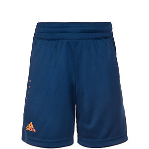 adidas Barricade Tennisshorts Kinder dunkelblau / orange