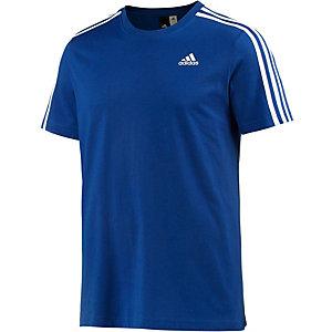 adidas Ess 3S T-Shirt Herren blau