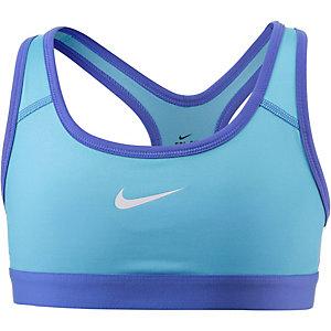 Nike Sport-BH Mädchen blau