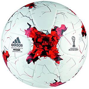 adidas Krasava Confedcomp Junior 290 Fußball Kinder weiß / rot / schwarz