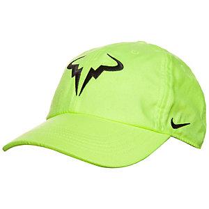 Nike AeroBill H86 Rafa Cap neongrün / schwarz
