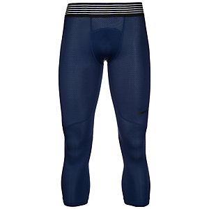 Nike Pro Hypercool 3/4 Tights Herren dunkelblau / schwarz