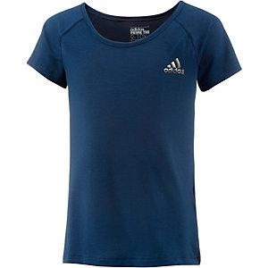 adidas Funktionsshirt Mädchen blau
