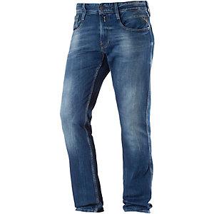 REPLAY Anbass Slim Fit Jeans Herren used denim