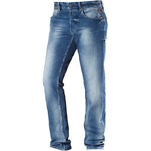 REPLAY Grover Straight Fit Jeans Herren used denim
