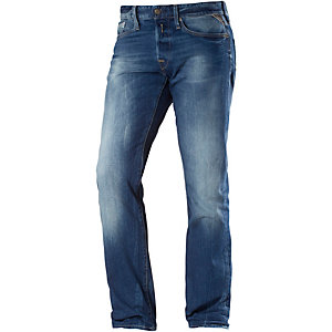 REPLAY Waitom Straight Fit Jeans Herren dark denim