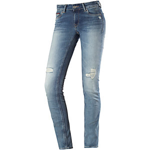 Tommy Hilfiger Sophie Skinny Fit Jeans Damen destroyed denim