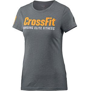 Reebok Crossfit T-Shirt Damen grau/melange