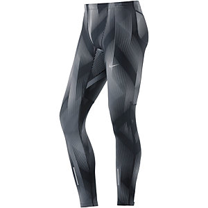 Nike Power Tech Lauftights Herren schwarz/grau
