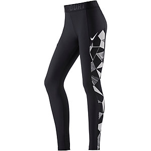 Nike Baseline Tights Damen schwarz
