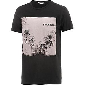LTB Kewoge T-Shirt Herren schwarz/weiß