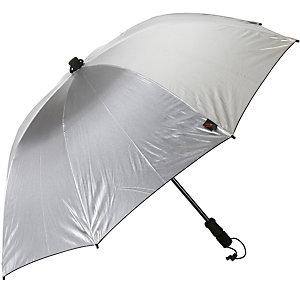 Göbel Swing handsfree Regenschirm silber