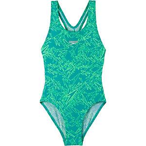 SPEEDO Badeanzug Mädchen blau/mint