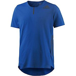 adidas Adizero Laufshirt Herren blau